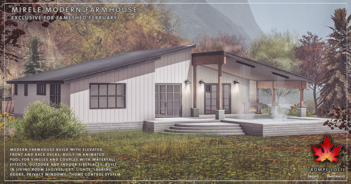Mirelle Modern Farmhouse for FaMESHed February