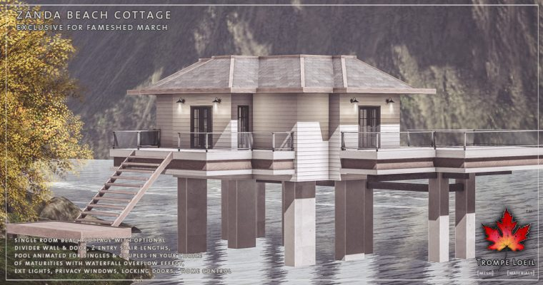 Zanda Beach Cottage for FaMESHed March