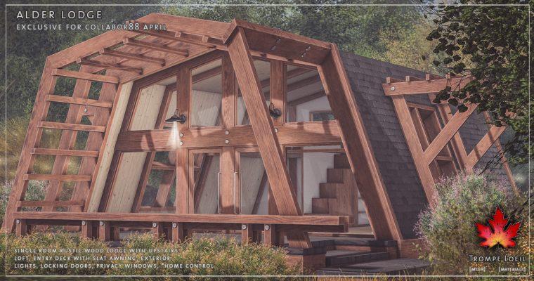 Alder Lodge for Collabor88 April