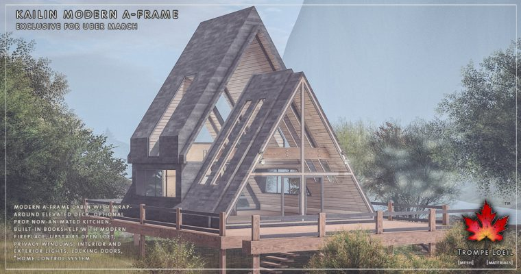 Kailin Modern A-Frame for Uber March