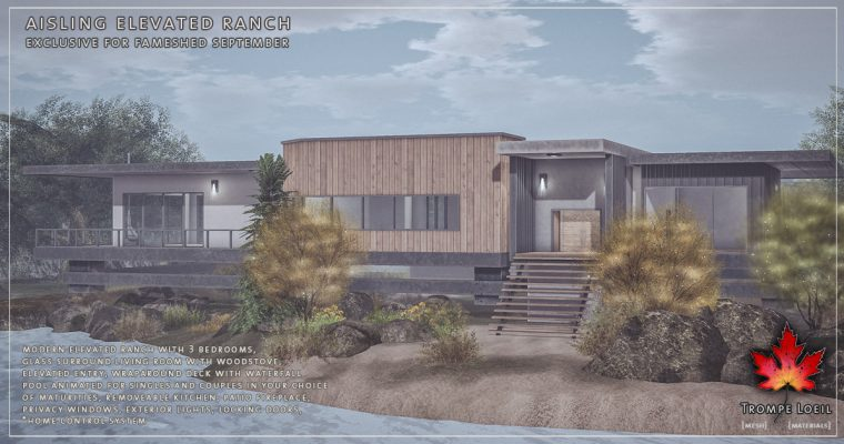 Aisling Elevated Ranch for FaMESHed September